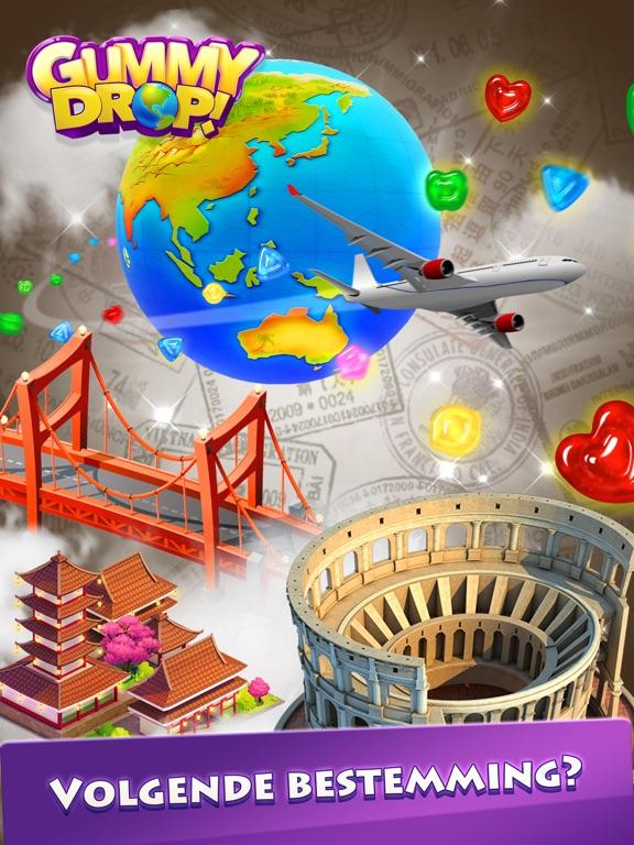 Gummy Drop! Match 3-puzzels iPad app afbeelding 5