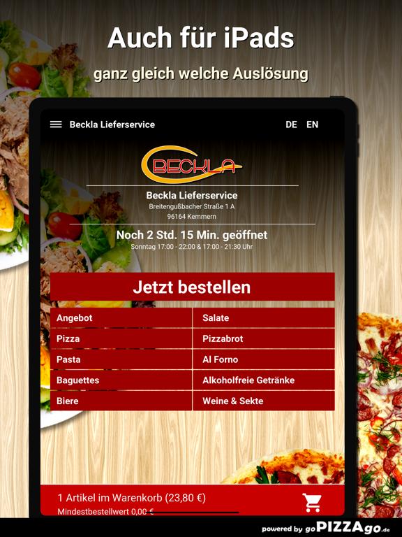 Beckla Lieferservice Kemmern screenshot 7