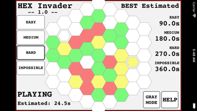 Hexagon Invader screenshot 5