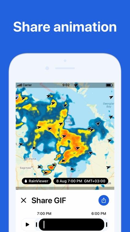 RainViewer: Live Weather Radar screenshot-8