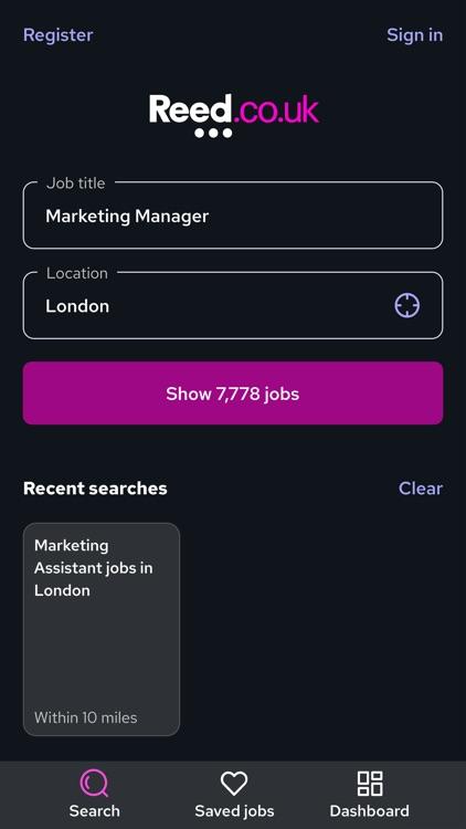 Reed.co.uk Job Search screenshot-4