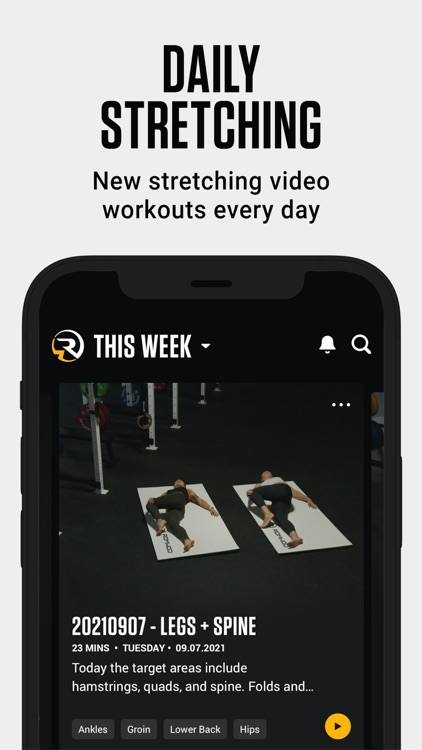 ROMWOD - mobility + recovery
