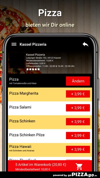 Kassel Pizzeria Kassel screenshot 5