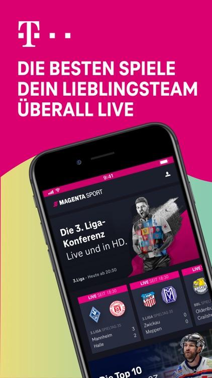 MagentaSport – DEL, BBL live screenshot-0