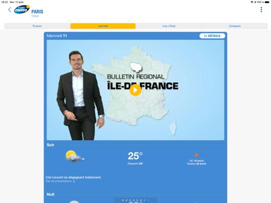 Screenshot #6 pour La Chaîne Météo HD