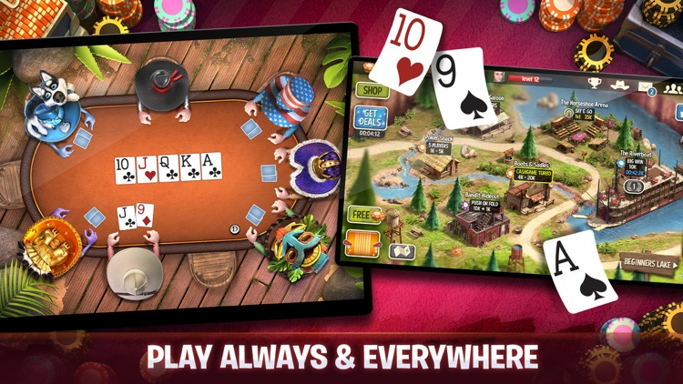 Governor of Poker 3 - Friends screenshot-4