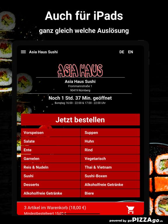 Asia-Haus Sushi Nürnberg screenshot 7