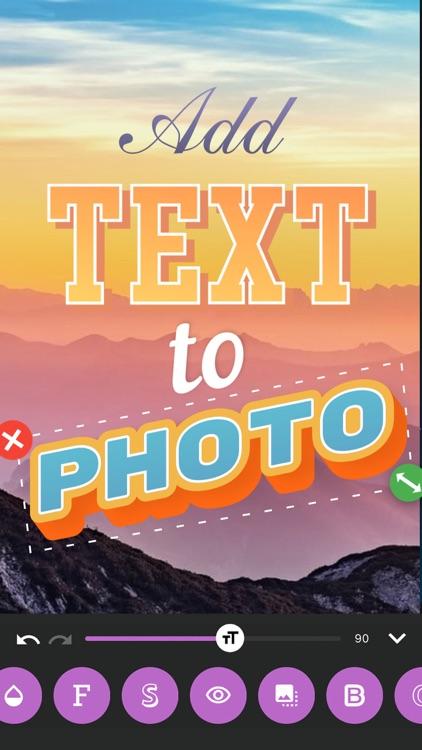 txt: Add Text To Photos Editor screenshot-6