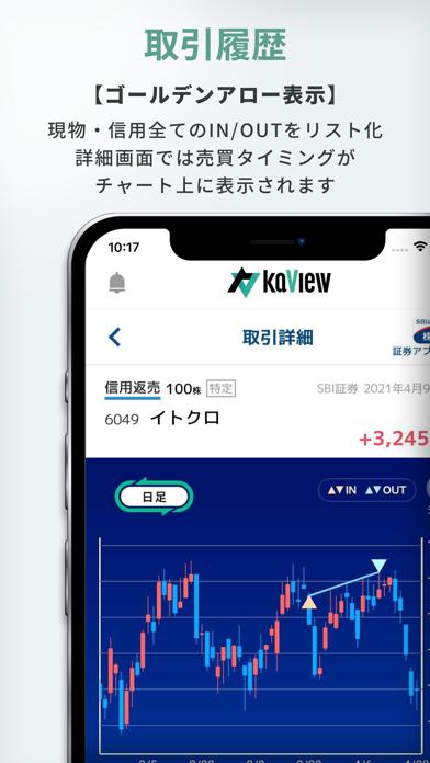 カビュウ - 株式投資管理・分析アプリ ScreenShot4