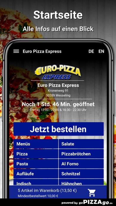 Euro Pizza Express Wesseling screenshot 2