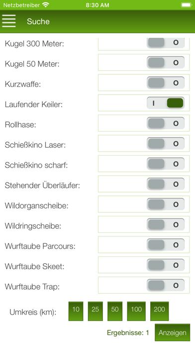 BJV Schießstand Suche screenshot 2