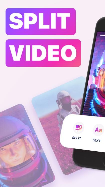 Long Video Split Story & Reels