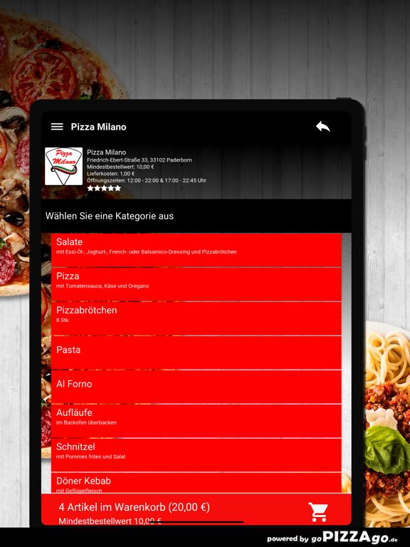 Pizza Milano Paderborn screenshot 8