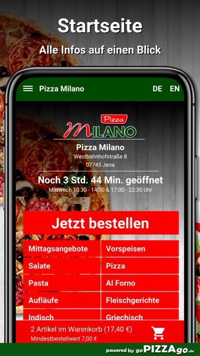 Pizza Milano Jena screenshot 2