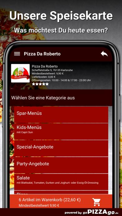 Pizza Da Roberto Karlsruhe screenshot 4