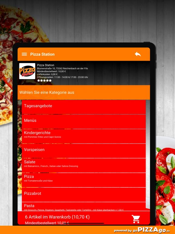 Pizza-Station Reichenbach screenshot 8