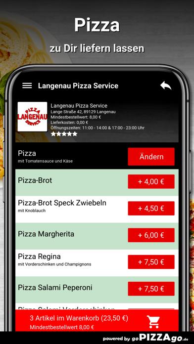 Langenau Pizza Service Langena screenshot 5