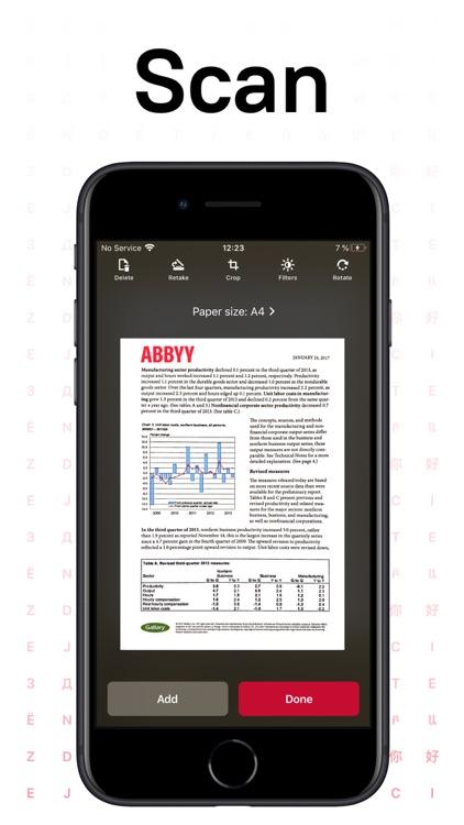 FineReader Pro: PDF Scanner screenshot-0
