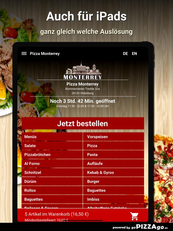 Pizza Monterrey Oldenburg screenshot 7