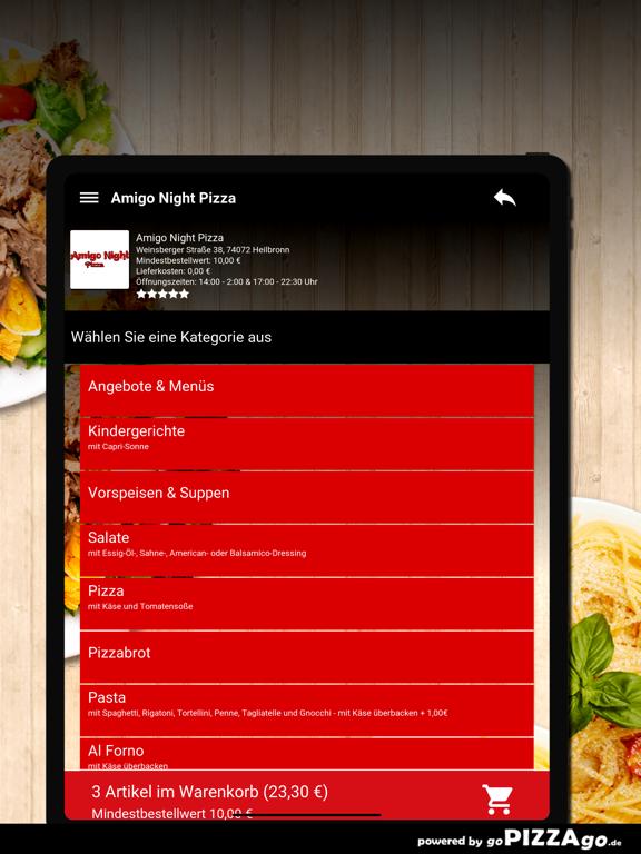 Amigo Night Pizza Heilbronn screenshot 8