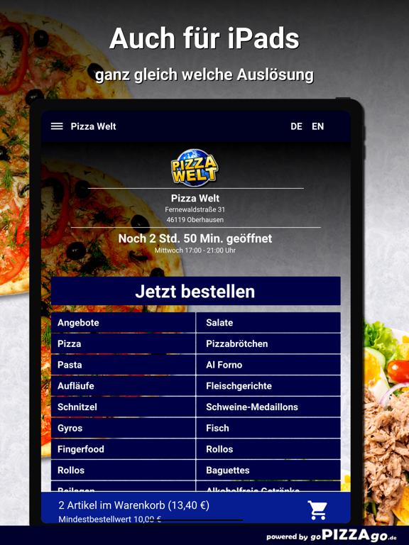 Pizza-Welt Oberhausen screenshot 7