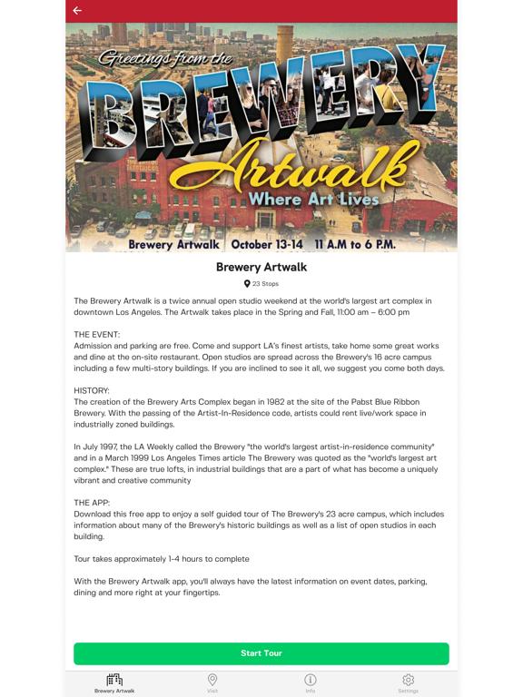Brewery Artwalk App screenshot 6