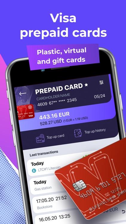 OWNR Crypto wallet & Visa Card