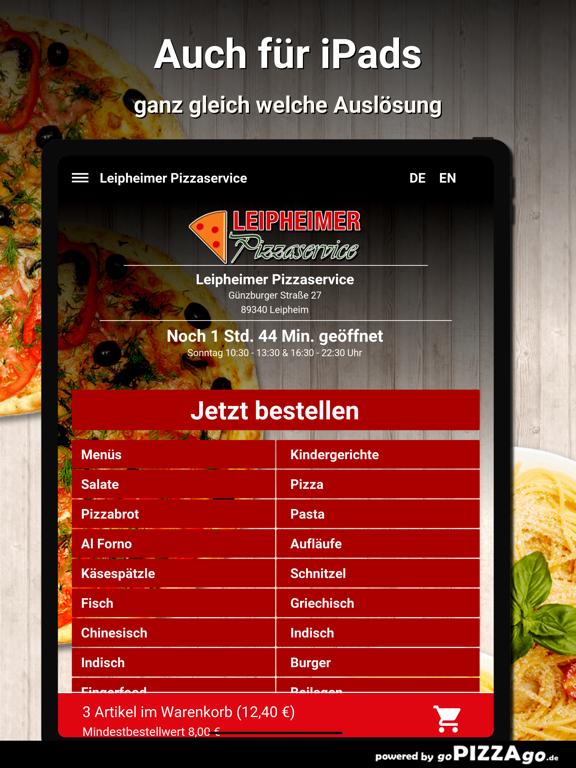 Leipheimer Pizzaservice Leiphe screenshot 7