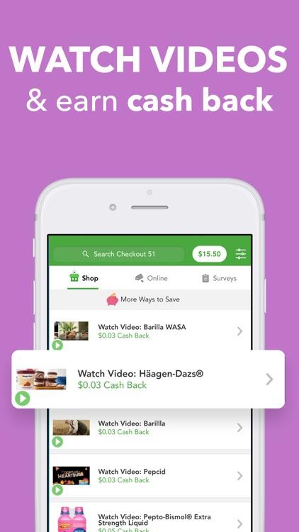 Checkout 51: Cash Back Savings screenshot-4