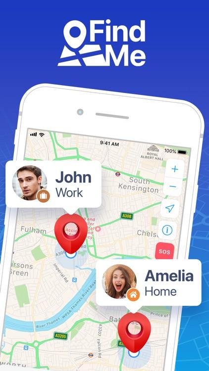 FindMe: Find My Friends, Phone screenshot-6