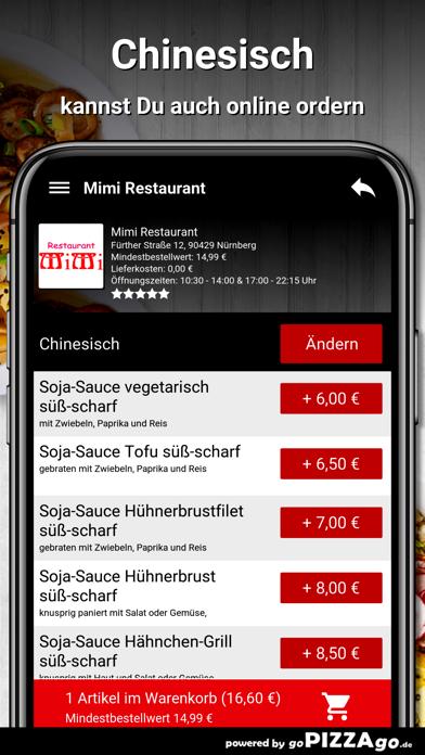 Mimi Restaurant Nürnberg screenshot 4