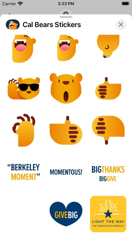 Cal Bears Stickers screenshot-6