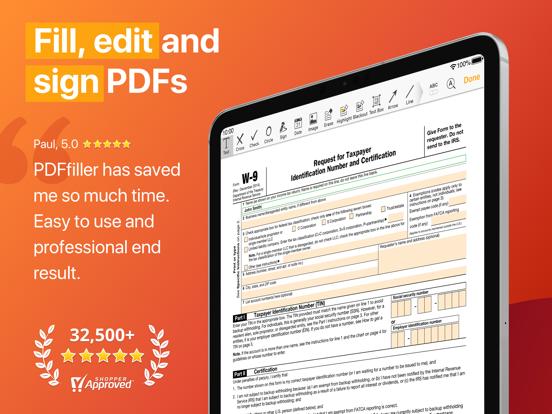 Screenshot #4 pour pdfFiller: modifier pdf & docs