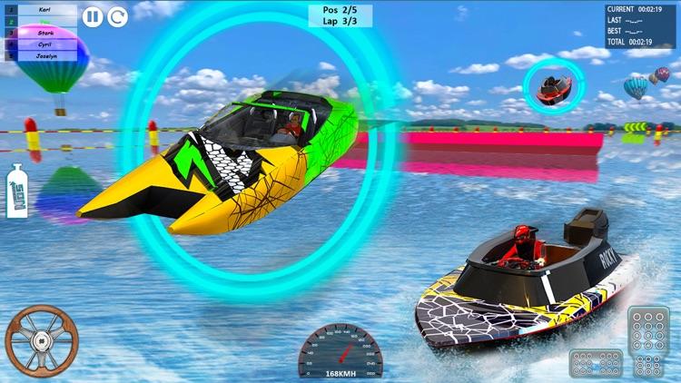 Speed Boat Driving Game 2021 screenshot-4