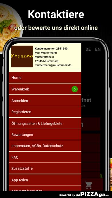 Khazana Restaurant Gütersloh screenshot 3