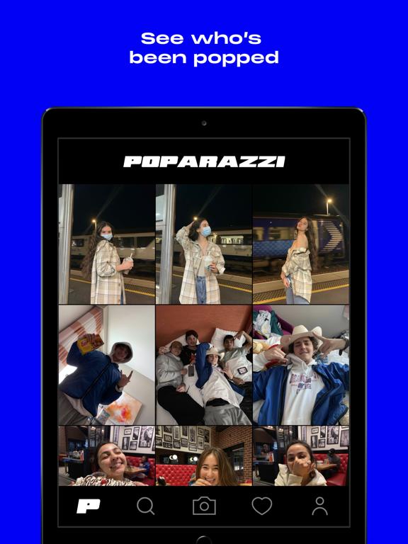 iPad Image of Poparazzi