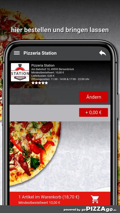 Pizzeria Station Bersenbrück screenshot 6