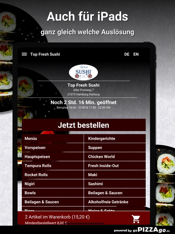 Top Fresh-Sushi Hamburg screenshot 7
