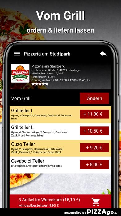 Pizzeria Stadtpark Leichlingen screenshot 6