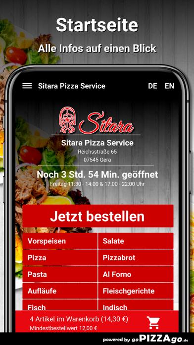 Sitara Pizza Service Gera screenshot 2