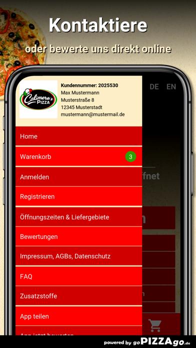 Calimeros Pizza Hildesheim screenshot 3