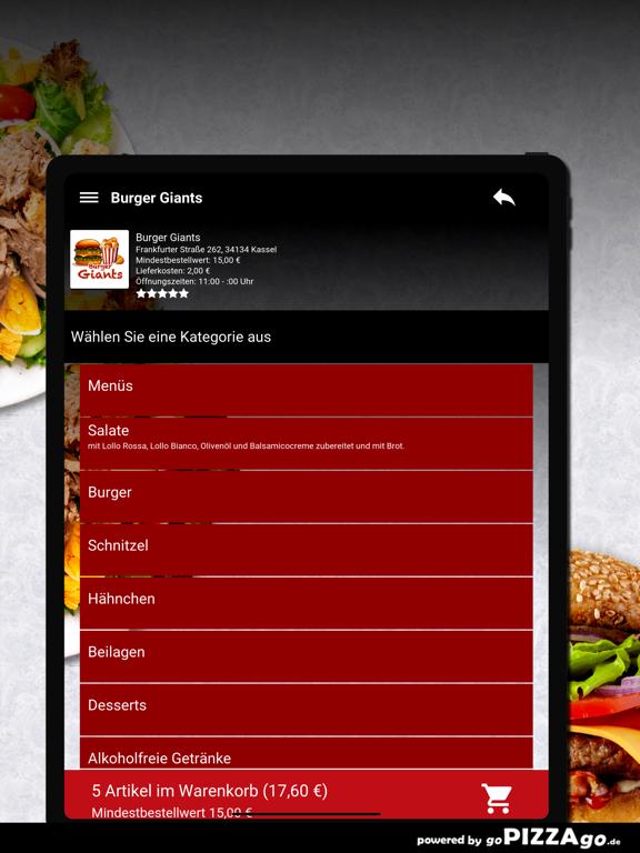 Burger Giants Kassel screenshot 8