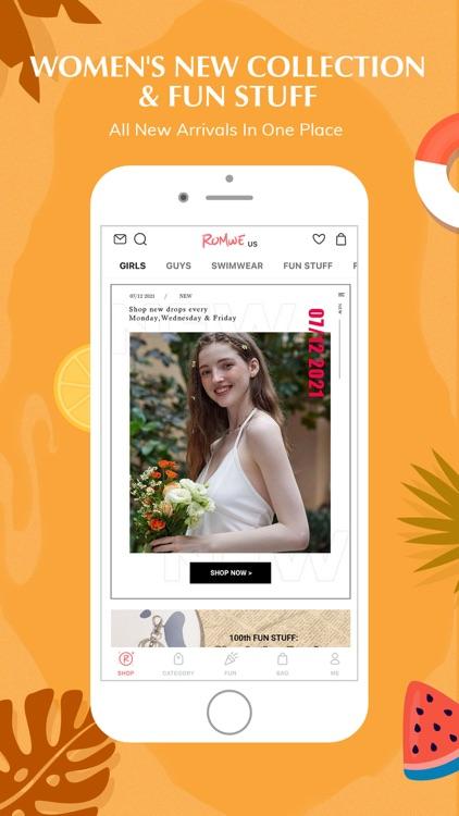 ROMWE -Online Fashion Store screenshot-4