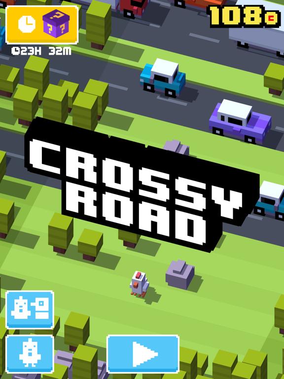 Crossy Road iPad app afbeelding 1