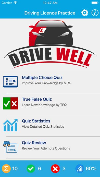 Driving Licence Quiz screenshot 1