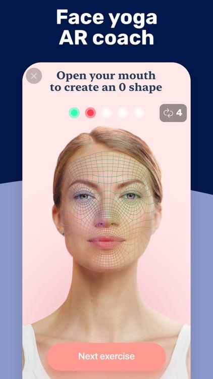 Facetory: Face Yoga & Exercise screenshot-4