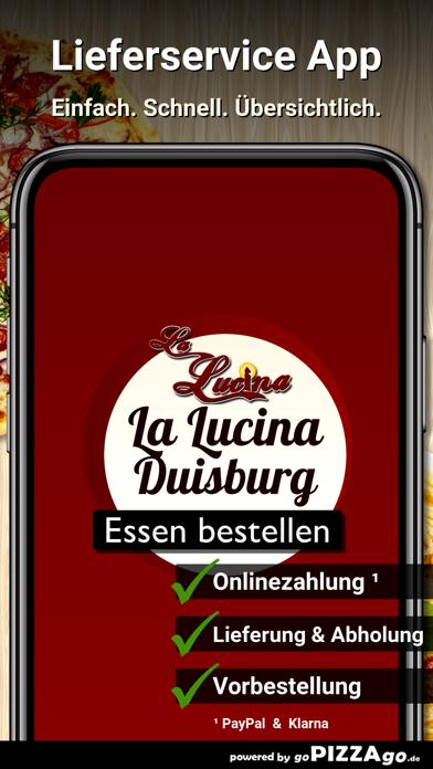 La Lucina Pizzeria Duisburg screenshot 2