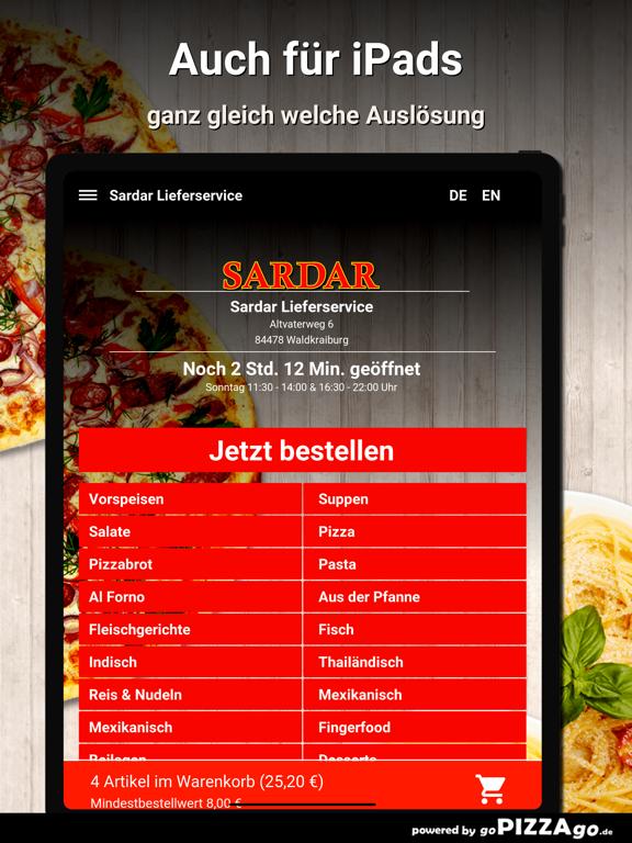 Sardar Lieferservice Waldkraib screenshot 7