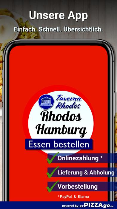 Taverna Rhodos Hamburg screenshot 1