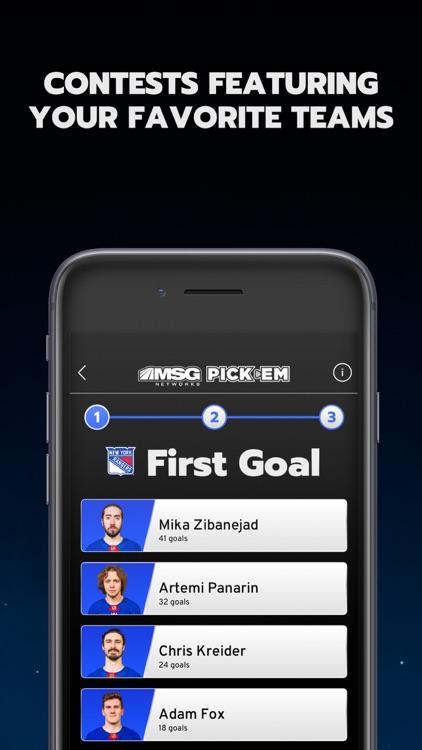 MSG Networks Pick'em screenshot-5